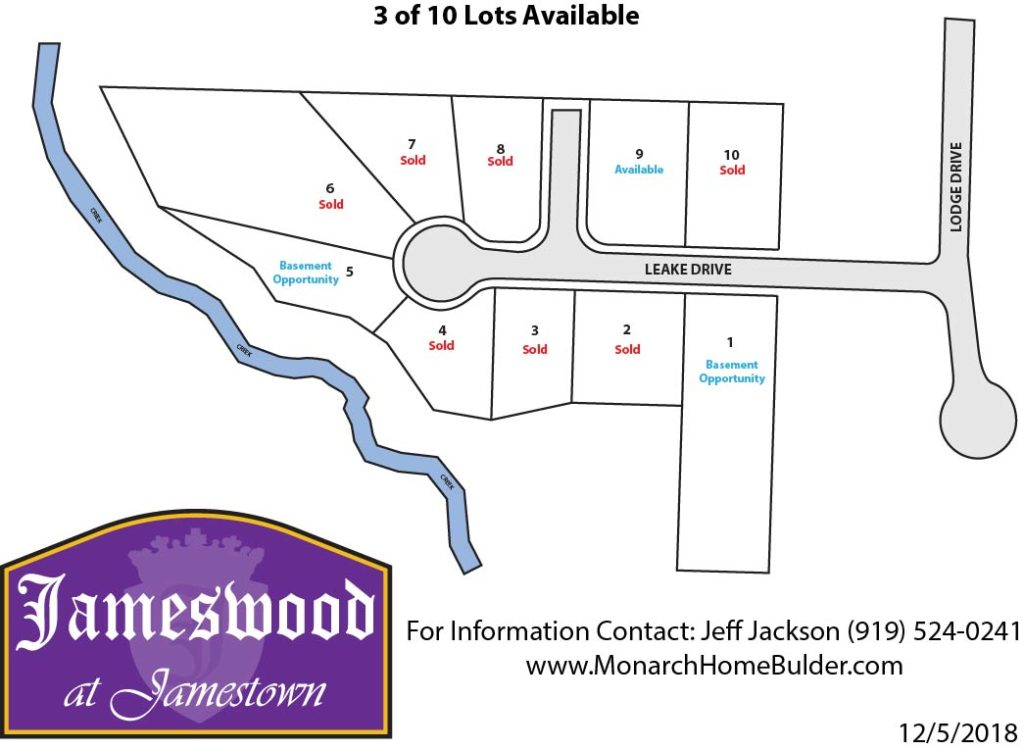 Jameswood at Jamestown Plat